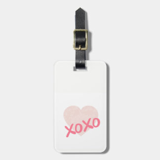 XOXO LUGGAGE TAG
