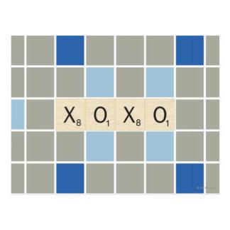 XOXO POSTCARD