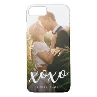 xoxo | Sweet White Overlay with Photo iPhone 8/7 Case