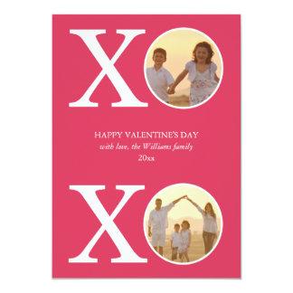 XOXO Valentine's Day Cards 13 Cm X 18 Cm Invitation Card