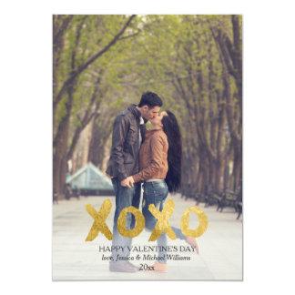 XOXO | Valentine's Day Cards 13 Cm X 18 Cm Invitation Card