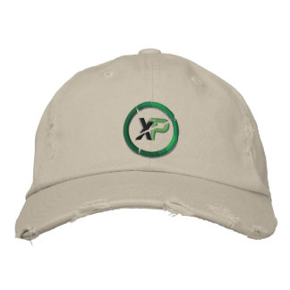 XP Coin Embroidered District Threads Distresse Embroidered Baseball Cap