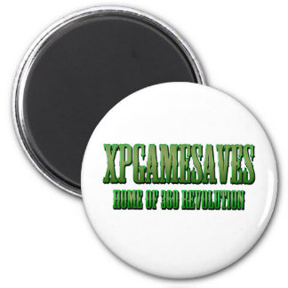 XPG green wanted look Range 6 Cm Round Magnet