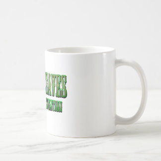 XPG green wanted look Range Basic White Mug