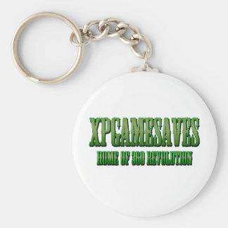 XPG green wanted look Range Basic Round Button Key Ring