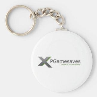 XPGamesaves Range v1 Basic Round Button Key Ring