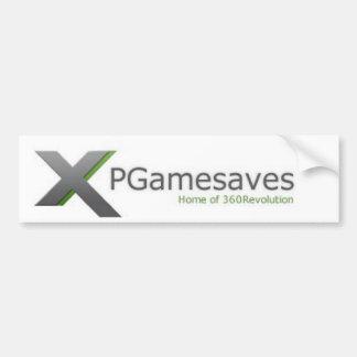 XPGamesaves Range v1 Bumper Stickers