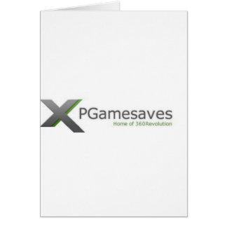 XPGamesaves Range v1 Greeting Card
