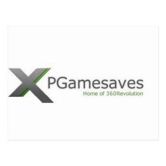XPGamesaves Range v1 Post Card