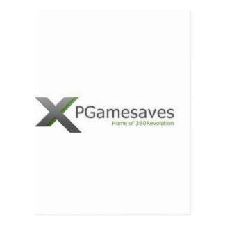 XPGamesaves Range v1 Postcard