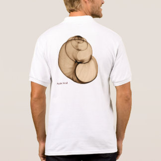 Xray photo of Fresh Water Pond Snail Full Back Tee Shirts