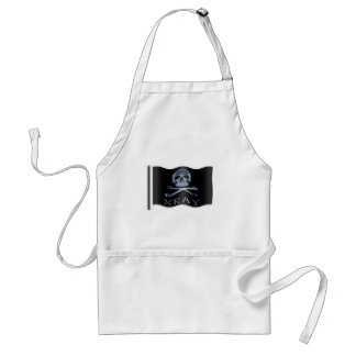 XRAY PIRATE Flag RADIOLOGY JOLLY ROGER Adult Apron