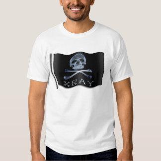 XRAY PIRATE Flag RADIOLOGY JOLLY ROGER Shirt