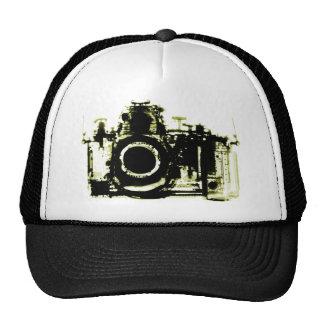 XRAY VISION CAMERA BLACK YELLOW HATS