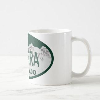 xterra license oval coffee mug