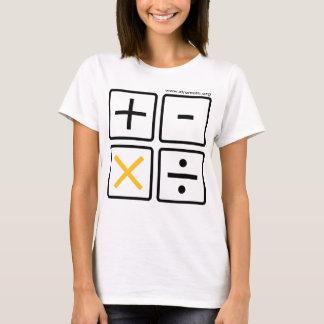 XtraMath Calculator Buttons (many styles) T-Shirt
