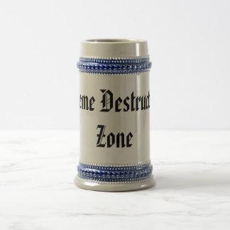 Xtreme Destruction Zone Beer Steins