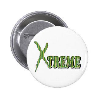 Xtreme - Extreme Sports Pop Fashion Button