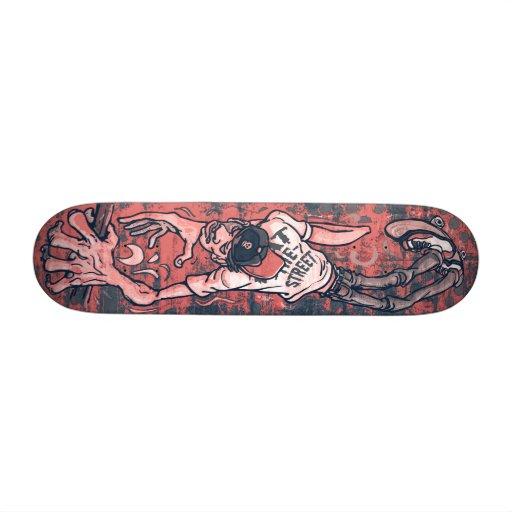 Xtreme Handrail SK8 Board by Eat The Street Custom Skate Board
