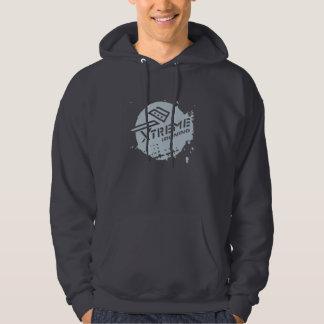 Xtreme Ironing Basic Dark Hooded Sweatshirt 3