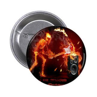 Xtreme Octane Radio Official Logo Pinback Button