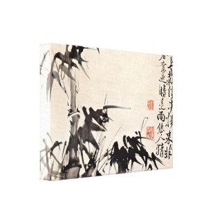 Xu Wei - Bamboo Canvas Print
