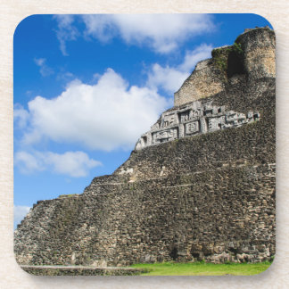 Xunantunich Mayan Ruin in Belize Coaster