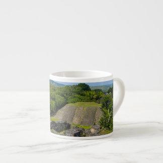 Xunantunich Mayan Ruin in Belize Espresso Cup
