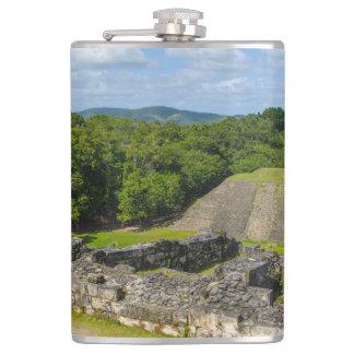 Xunantunich Mayan Ruin in Belize Flasks