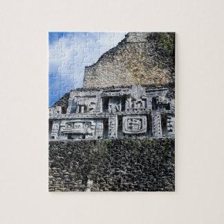Xunantunich Mayan Ruin in Belize Jigsaw Puzzle