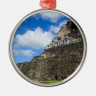 Xunantunich Mayan Ruin in Belize Metal Ornament