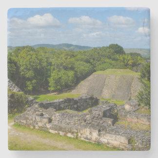 Xunantunich Mayan Ruin in Belize Stone Coaster