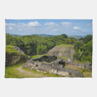 Xunantunich Mayan Ruin in Belize Tea Towel