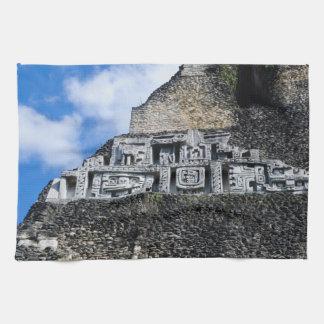 Xunantunich Mayan Ruin in Belize Towels