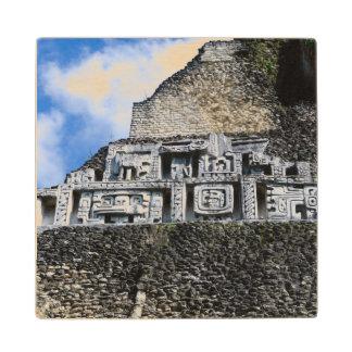 Xunantunich Mayan Ruin in Belize Wood Coaster