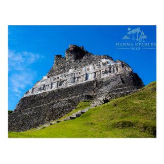 Xunantunich Mayan Ruins in Belize Postcard