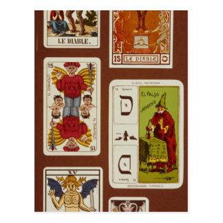 XV The Devil Postcard
