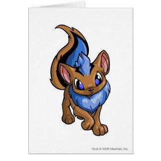 Xweetok Blue Greeting Card
