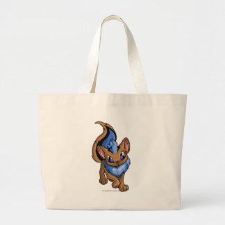 Xweetok Blue Jumbo Tote Bag