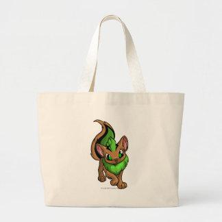Xweetok Green Jumbo Tote Bag