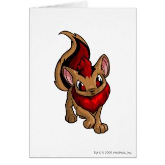 Xweetok Red Greeting Card