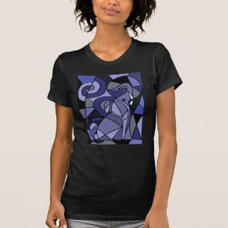 XX- Abstract Art Elephant Tshirts