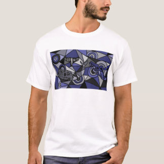 XX- Abstract Art Whales T-Shirt