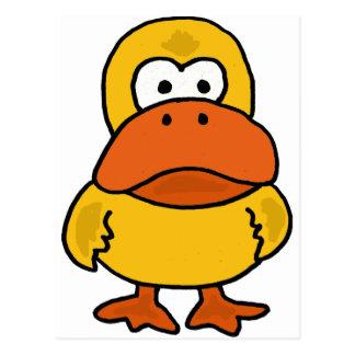 XX- Angry Duck Cartoon Postcard