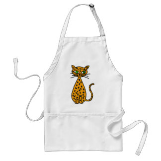 XX- Awesome Spotted Cat Standard Apron