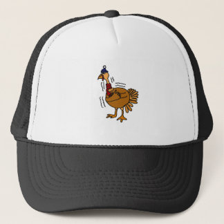 XX- Cold Turkey Cartoon Trucker Hat