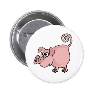XX- Cute Funny Pink Pig Cartoon Pins