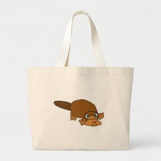 XX- Duck Billed Platypus Cartoon Canvas Bags