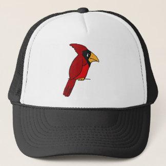 XX- Funky Red Cardinal Trucker Hat