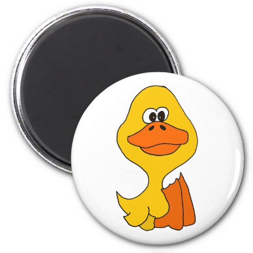 XX- Funky Silly Duck Magnet